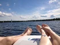 Sommertage auf dem Wannsee