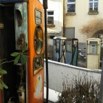 Alte Tankstelle im Hinterhof Berlin