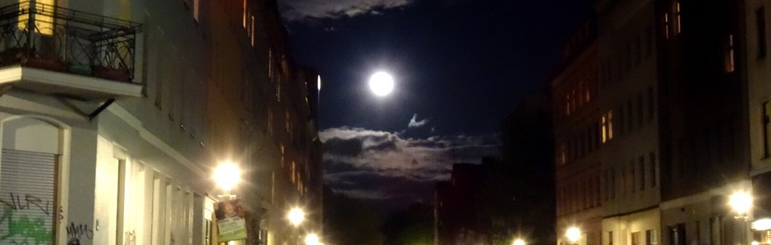 Vollmond in Kreuzberg