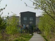 Versteckter Bürgerpark am ehemaligen Wriezener Bahnhof