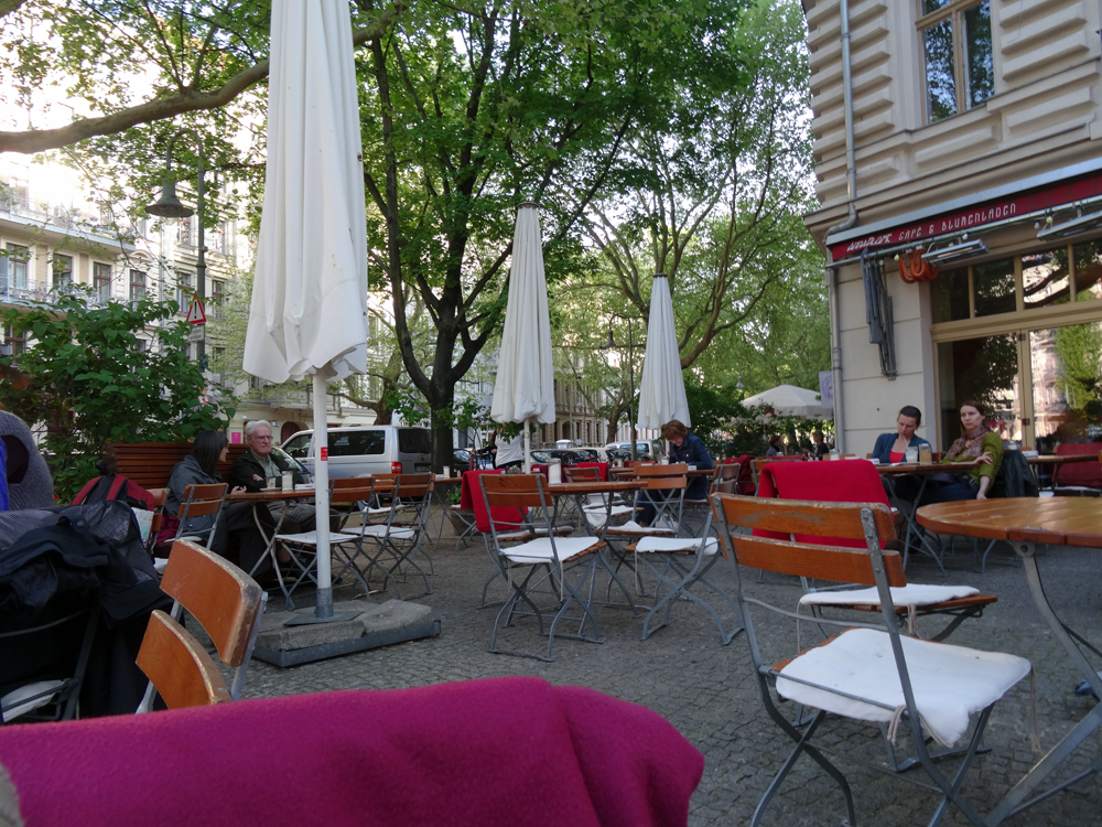 Terrasse Café Anna Blume