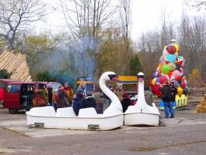 Schwanenboote Spreepark Berlin